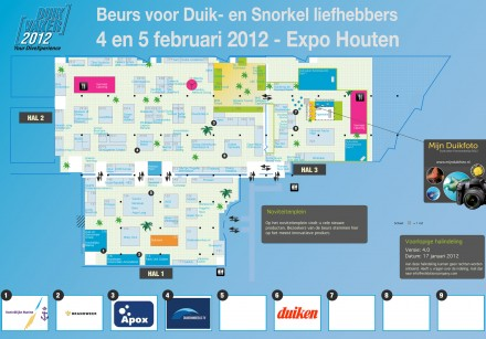 Duikvaker 2012 Floorplan